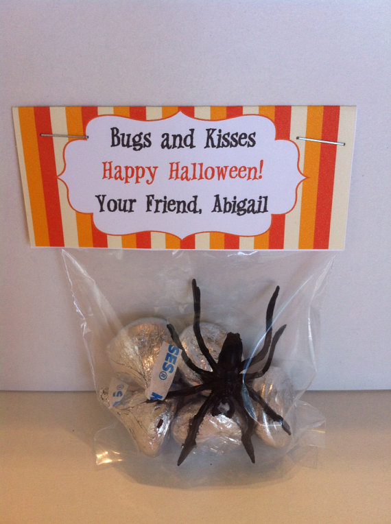 Bugs and Kisses - Halloween Treat Bag Topper ...