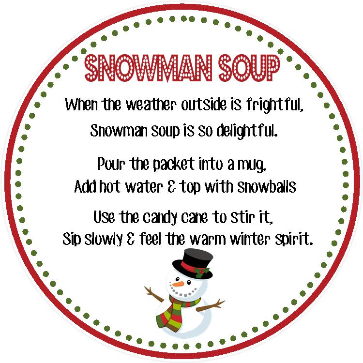 Snowman Soup! | sweetdesignsbyregan