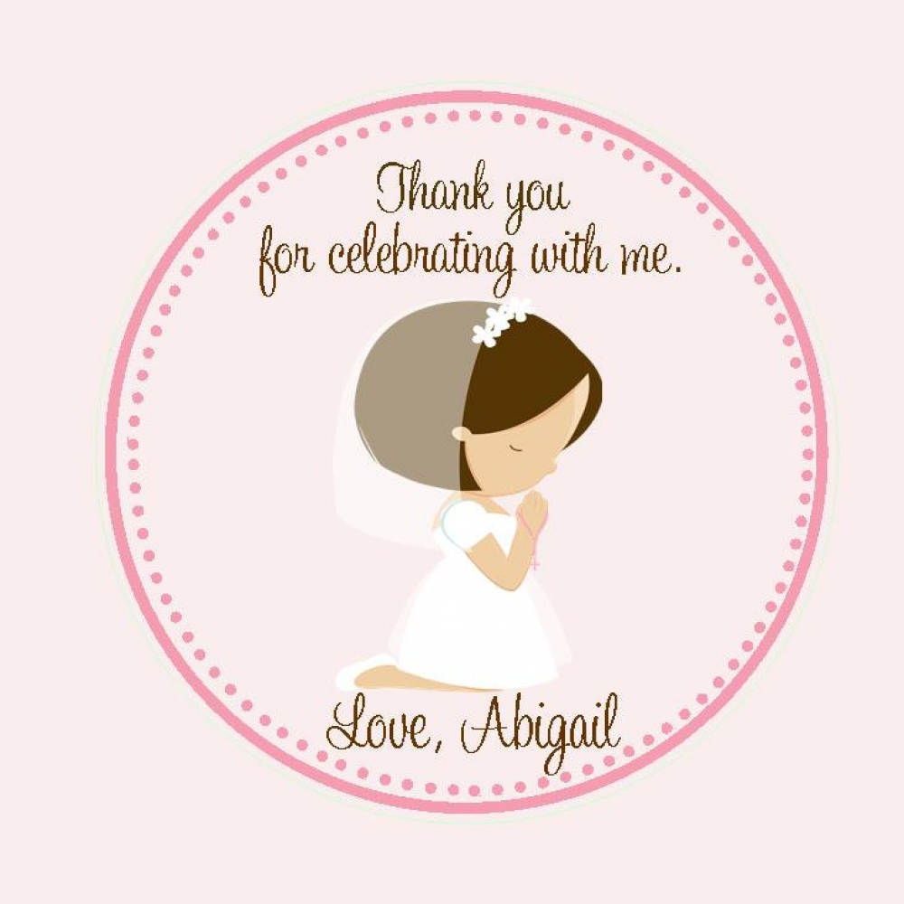 First Communion Favor Tags - Tags Only | sweetdesignsbyregan