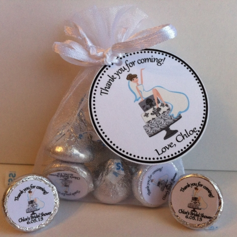 Bridal Shower Favor Bag Set | sweetdesignsbyregan