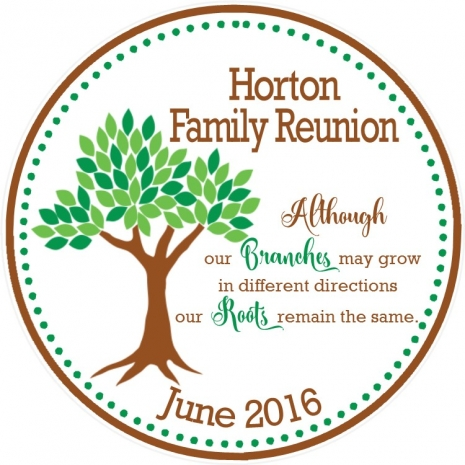 Family Reunion Favor Tags