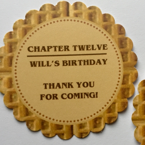 Stranger Things Birthday Party Favors