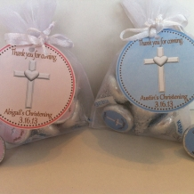 Christening Favor Bag Set