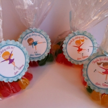 Ice Skating Birthday Favor Bags