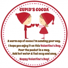 Valentine's Day Favor Tag
