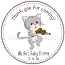 Cat & the fiddle favor tag