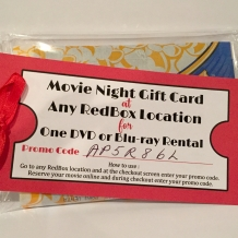 Redbox Gift Tag