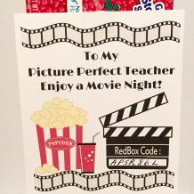 Red Box Teacher Appreciation Gift Tag