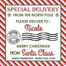 Santa Gift Tags / Tags From Santa