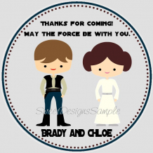 Star Wars Wedding Favors