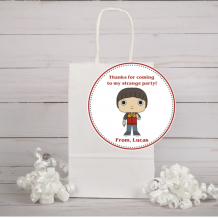 Stranger Things Party Favor Tags