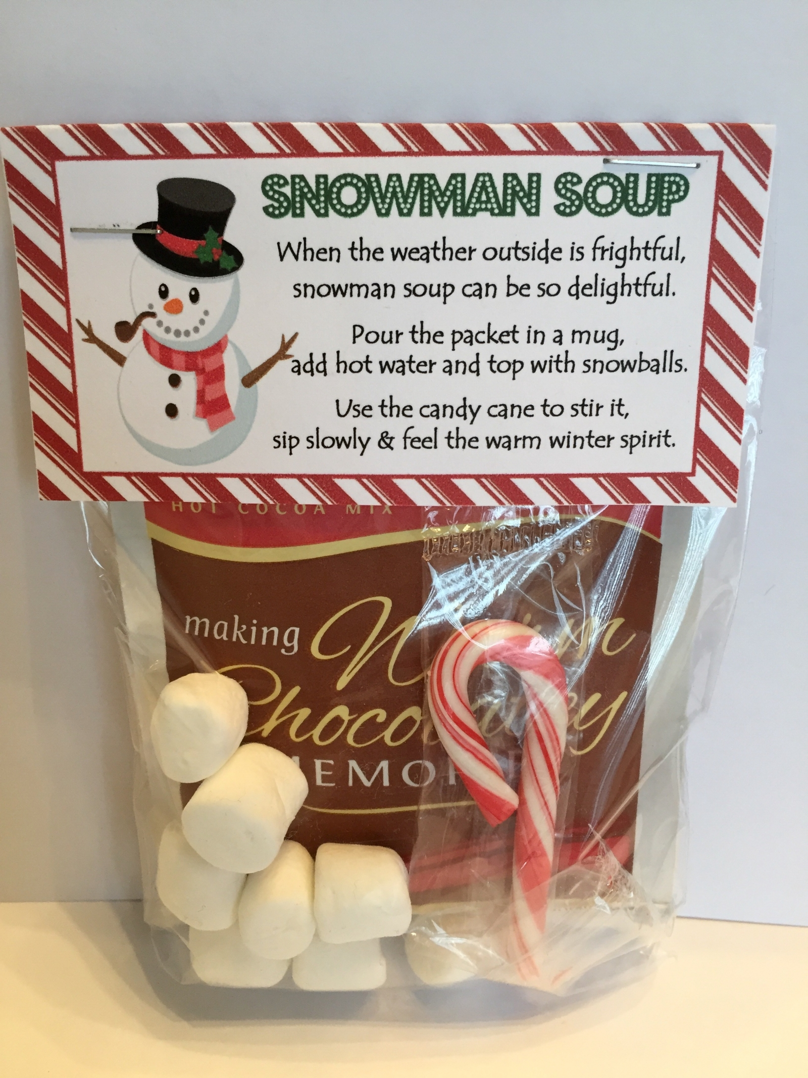 photo about Snowman Soup Free Printable Bag Toppers referred to as Snowman Soup - Deal with Bag Topper - Electronic Document - Oneself print!